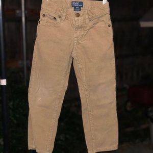 Polo by ralph lauren corduroy pants little boys